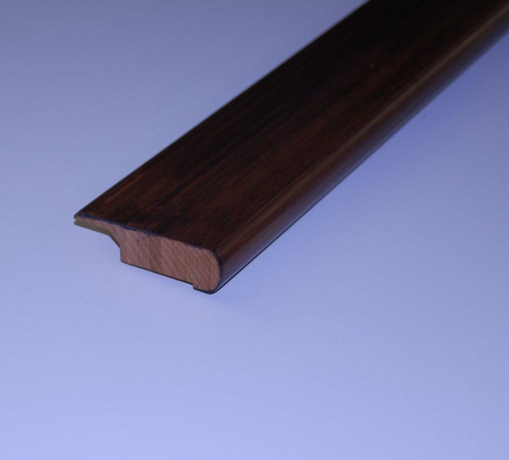 Bamboo Espresso Overlap Stair Nosing - 78 Inch Lengths