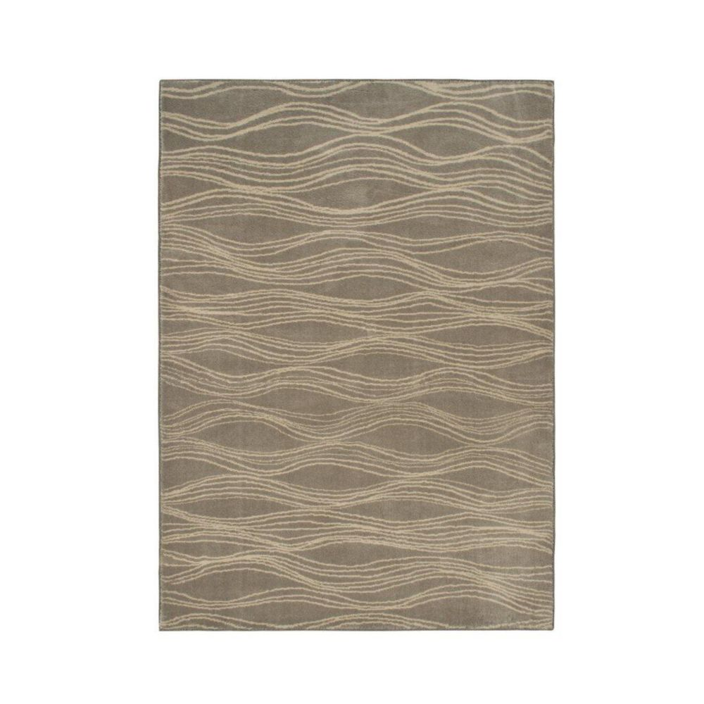 Louvre Light Taupe 2 Feet 6 Inch x 3 Feet 9 Inch Area Rug