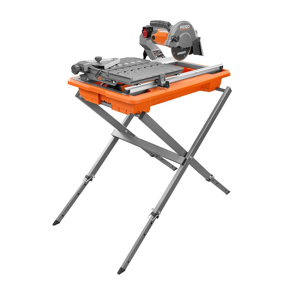 7-inch Job Site Tile Saw with Laser