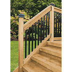 Stair Rail Kit - Rectangular  Balusters