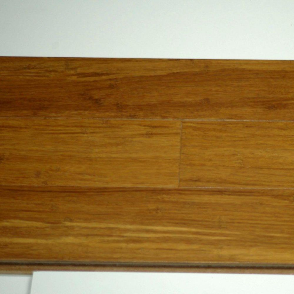 Ultimate Bamboo Coffee 12mm Thick x 3 3/4-inch W Engineered Hardwood Flooring (25.2 sq. ft. / cas...