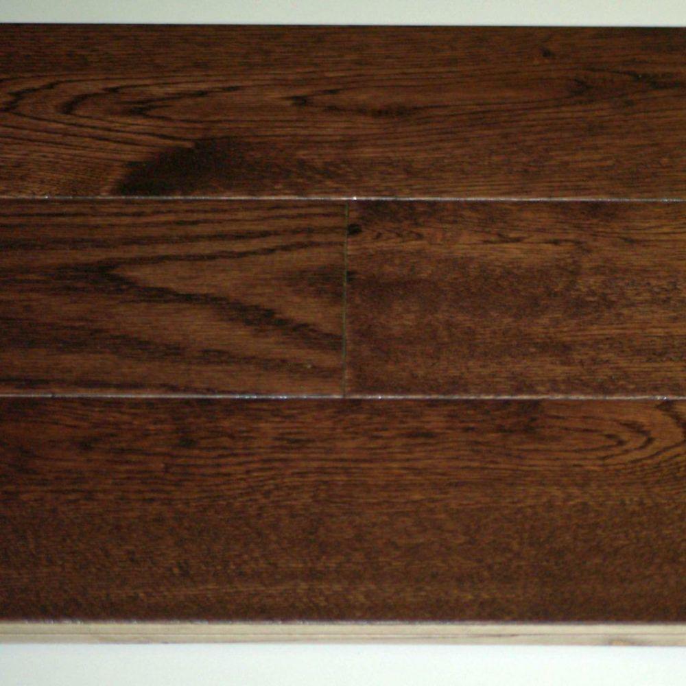 Cocoa Oak 3/4-inch Thick x 5-inch W Handscraped Engineered Hardwood Flooring (12.96 sq. ft. / cas...
