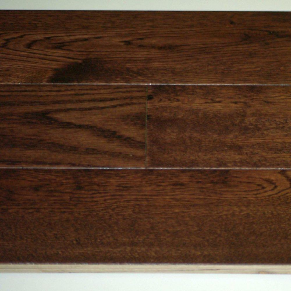 Cocoa Oak 3/4-inch Thick x 5-inch W Handscraped Engineered Hardwood Flooring (12.96 sq. ft. / cas...