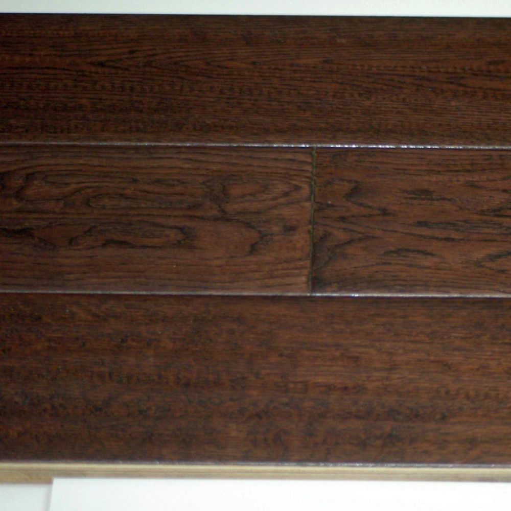 Goodfellow truffle oak 3 4 inch thick x 5 inch w for Hardwood flooring 4 inch