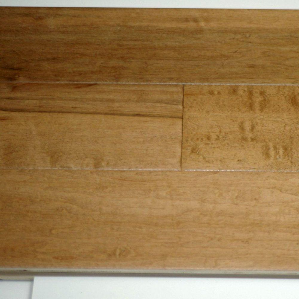 Goodfellow Plancher, bois d'ingénierie, 3/4 po x 5 po, Antique Érable, 12,96 pi2/boîte