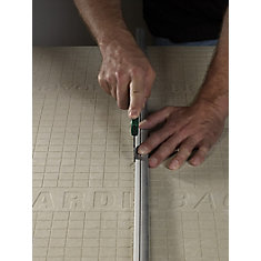 EZ Grid Cement Board 3 ft. x 5 ft. X 1/4 inch