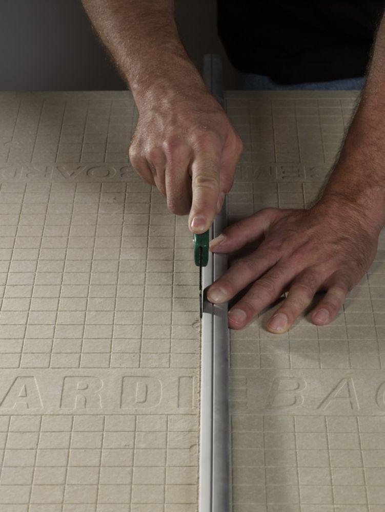 Panneau en ciment HardieBacker EZ Grid 3 X 5 X 1/4