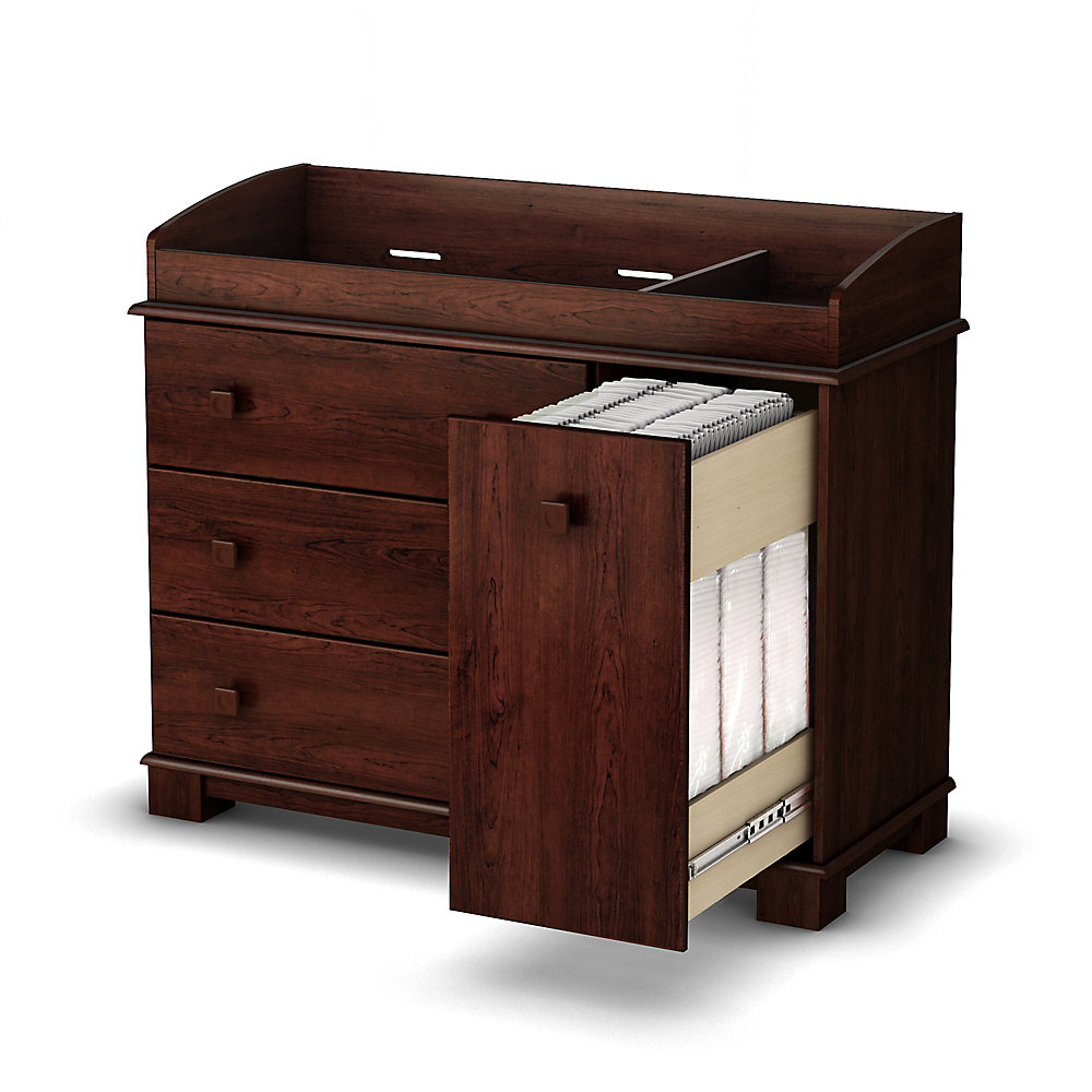 Lovely Treasure Changing Table Royal Cherry