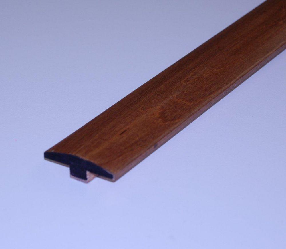 Mountain Walnut Handscraped T-Mould - 78 Inch Lengths