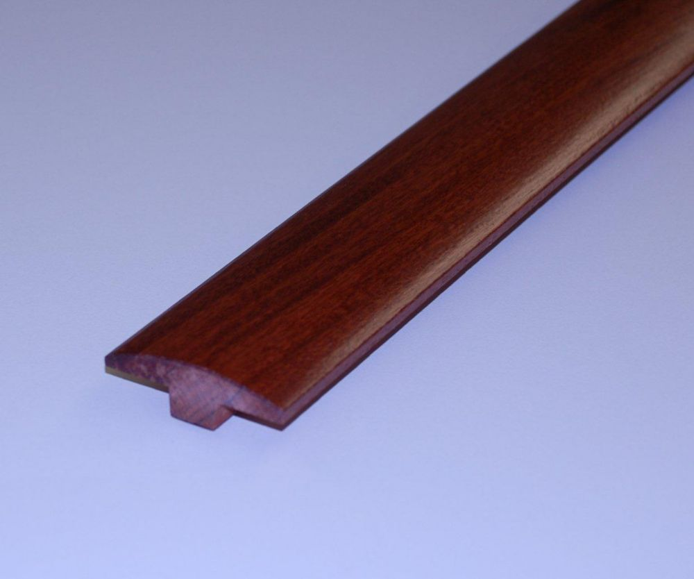 Cabreuva 1/2Inch Thick T-Mould - 78 Inch Lengths