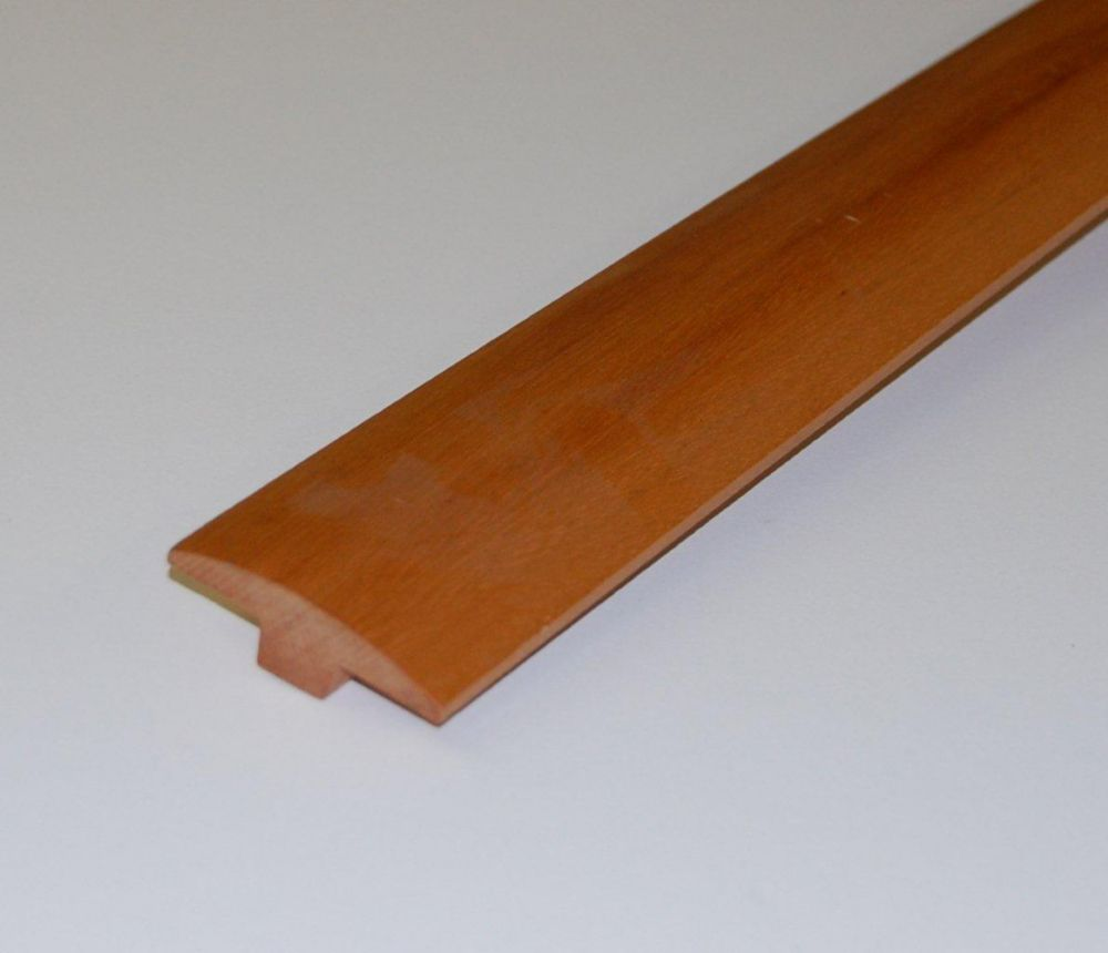 Tigerwood 1/2Inch Thick T-Mould - 78 Inch Lengths