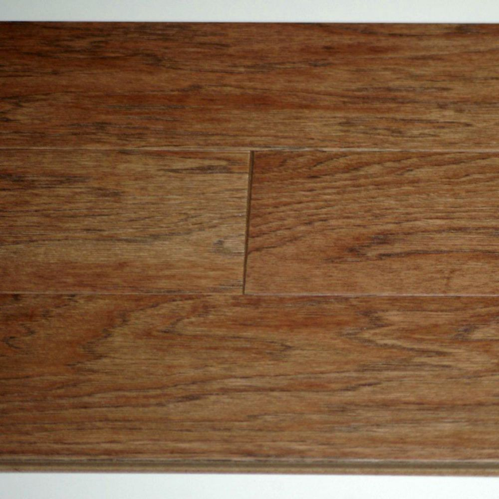 Hickory Brushed Prairie 3/8-inch Thick x 5-inch W Engineered Hardwood Flooring (25.6 sq. ft. / ca...