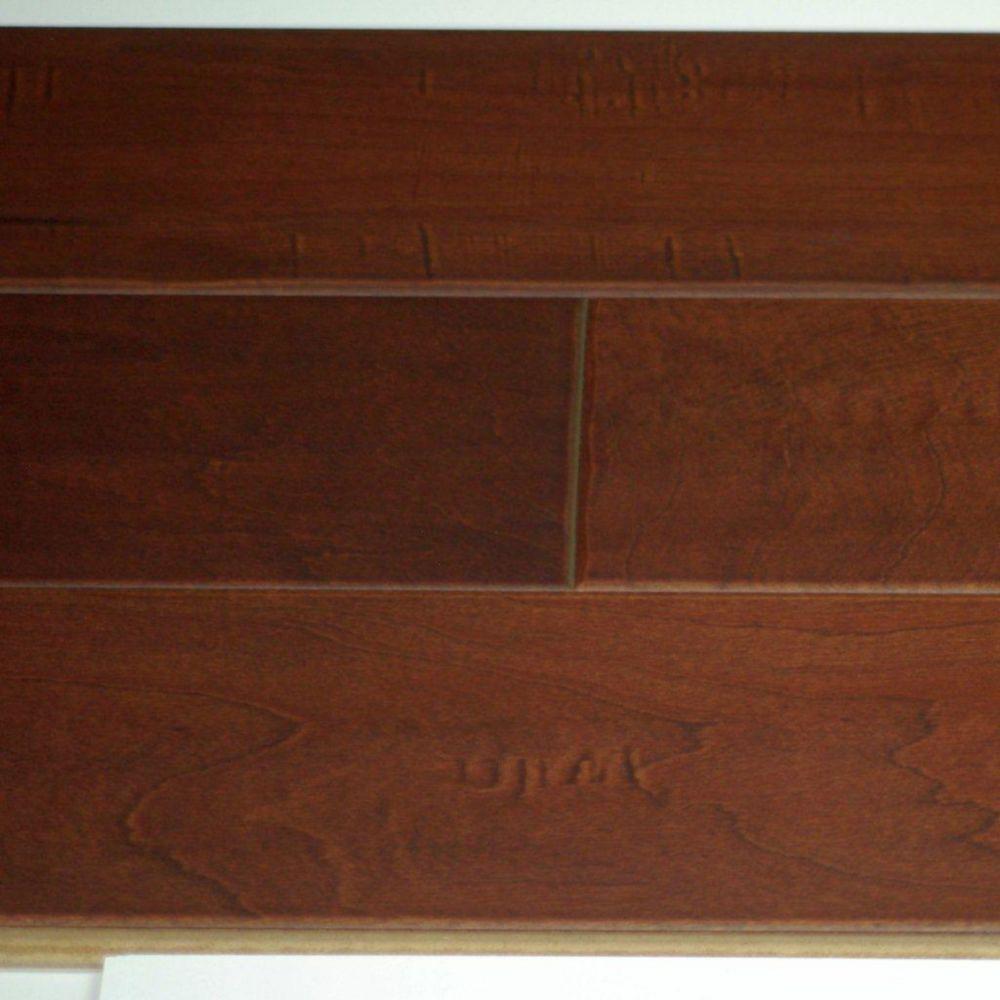 Saddle Maple 3/8-inch Thick x 5-inch W Engineered Hardwood Flooring (25.6 sq. ft. / case)