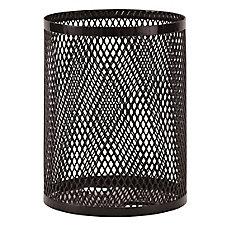 32 Gal. Commercial Trash Receptacle in Black