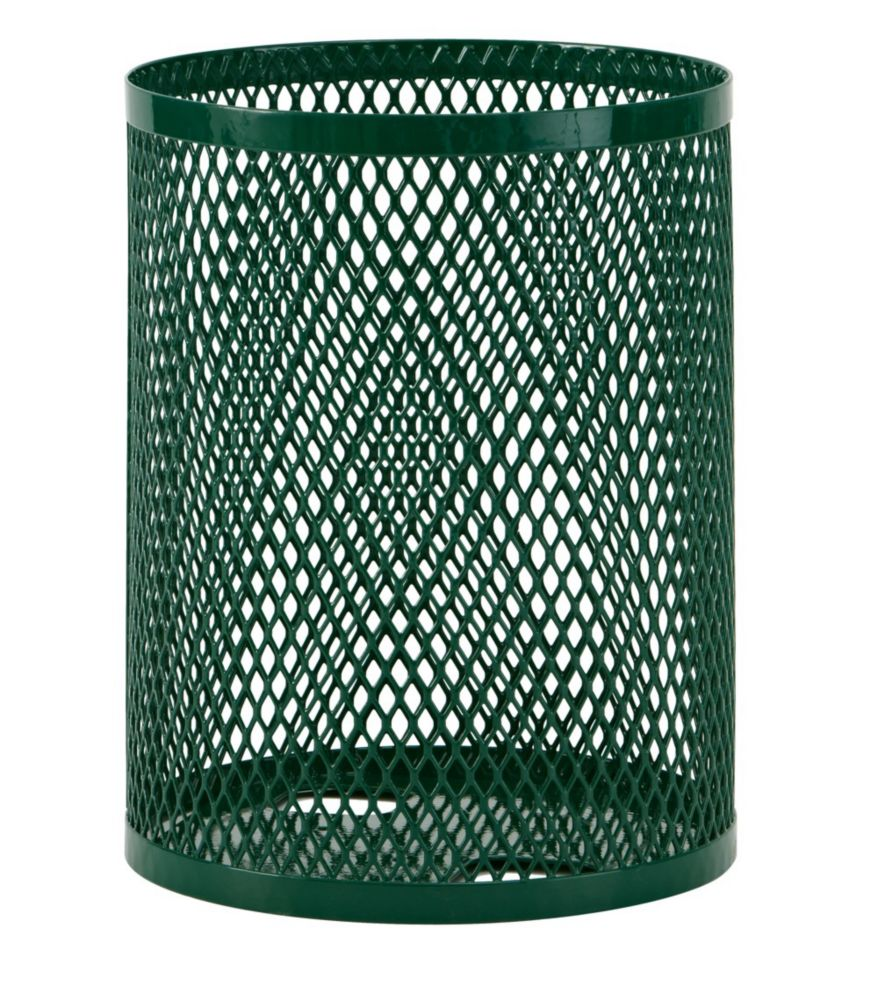 32 Gallon Commercial Trash Receptacle- Green