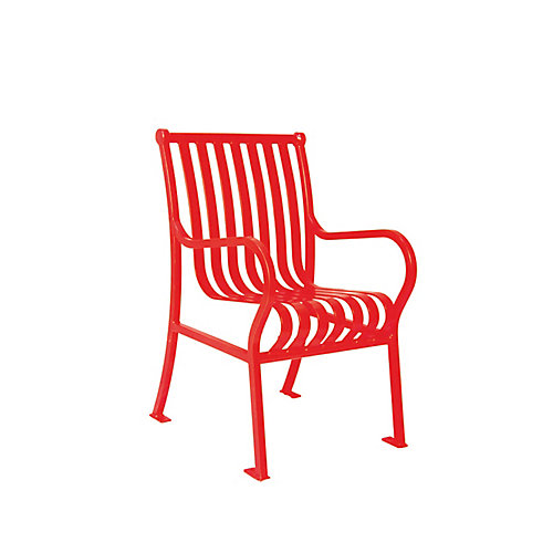Hamilton Commercial Patio Chair in Red