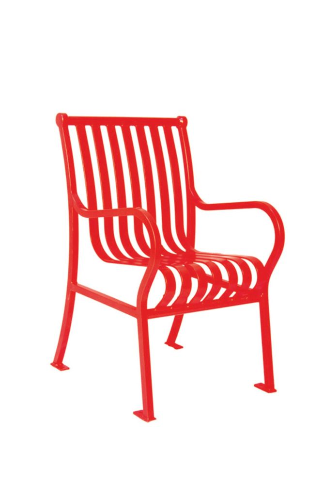 Commercial Hamilton Patio Chair- Red