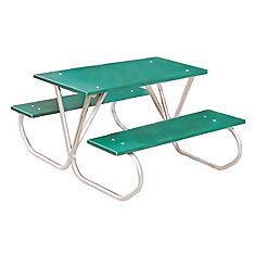 Table de 3 pi pour enfants dâge préscolaire- Vert