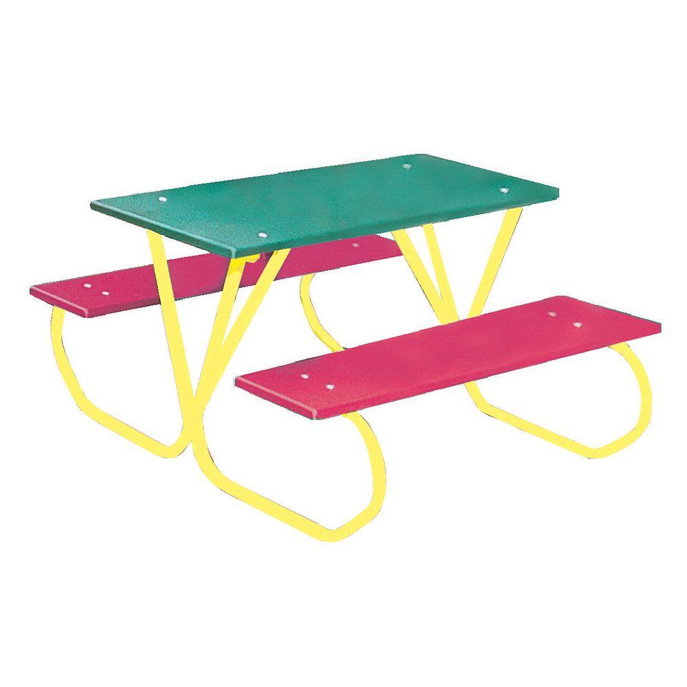 UltraSite 3 ft. Commercial Plastic Preschool Table
