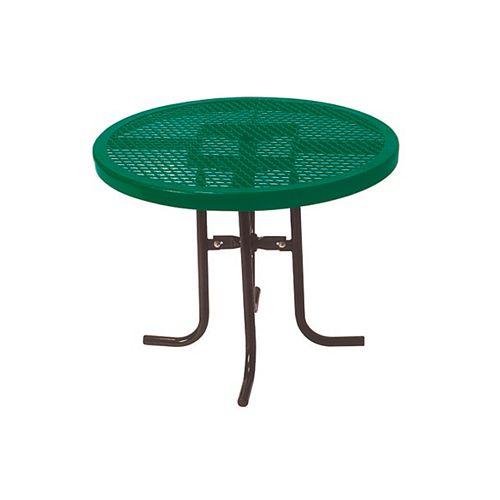 UltraSite 36-inch Commercial Round Table in Green
