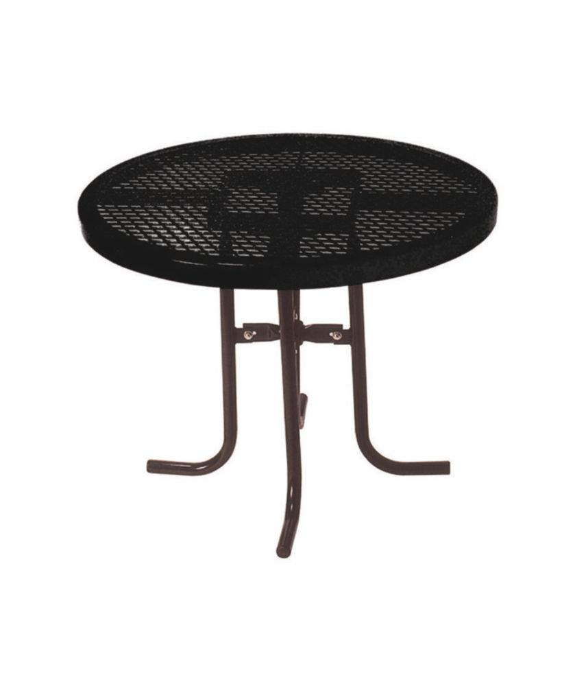 36 inch Commercial Round Table- Black