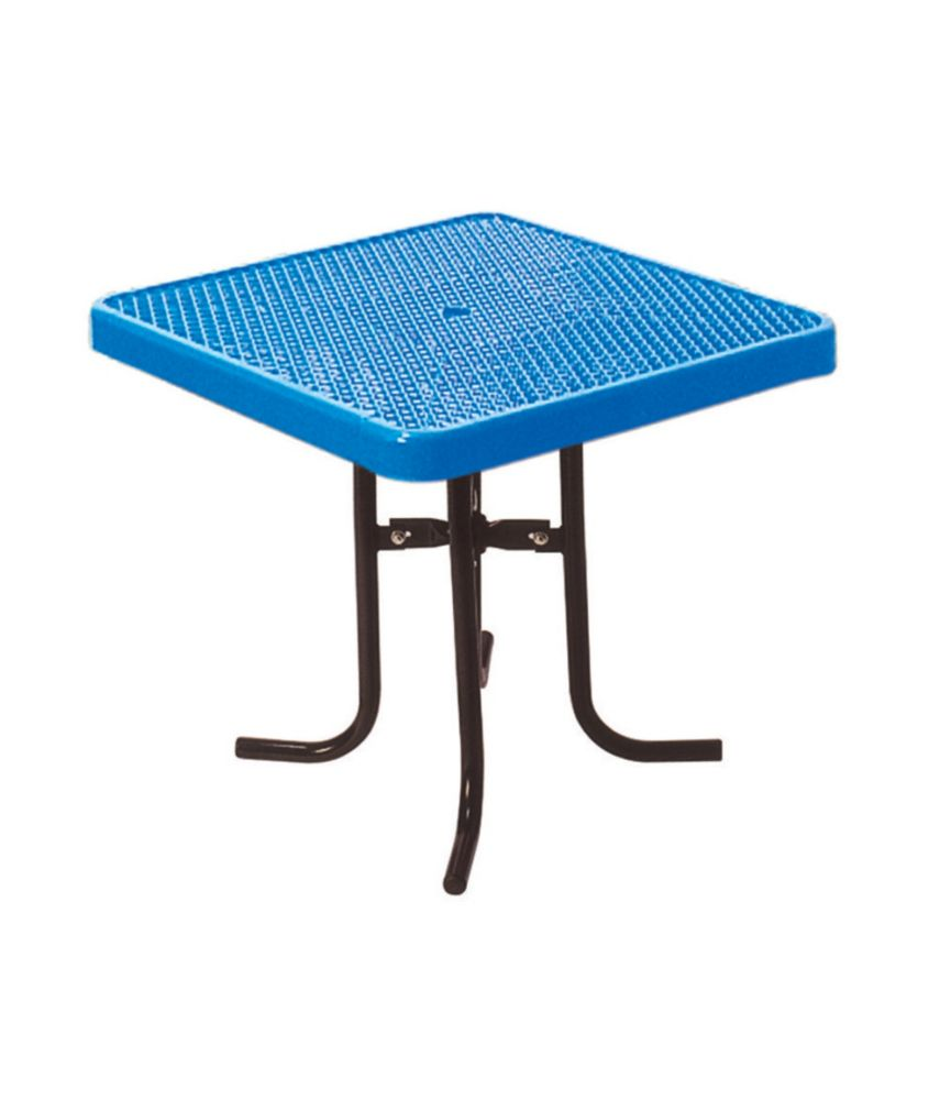 36 inch Commercial Square Table- Blue