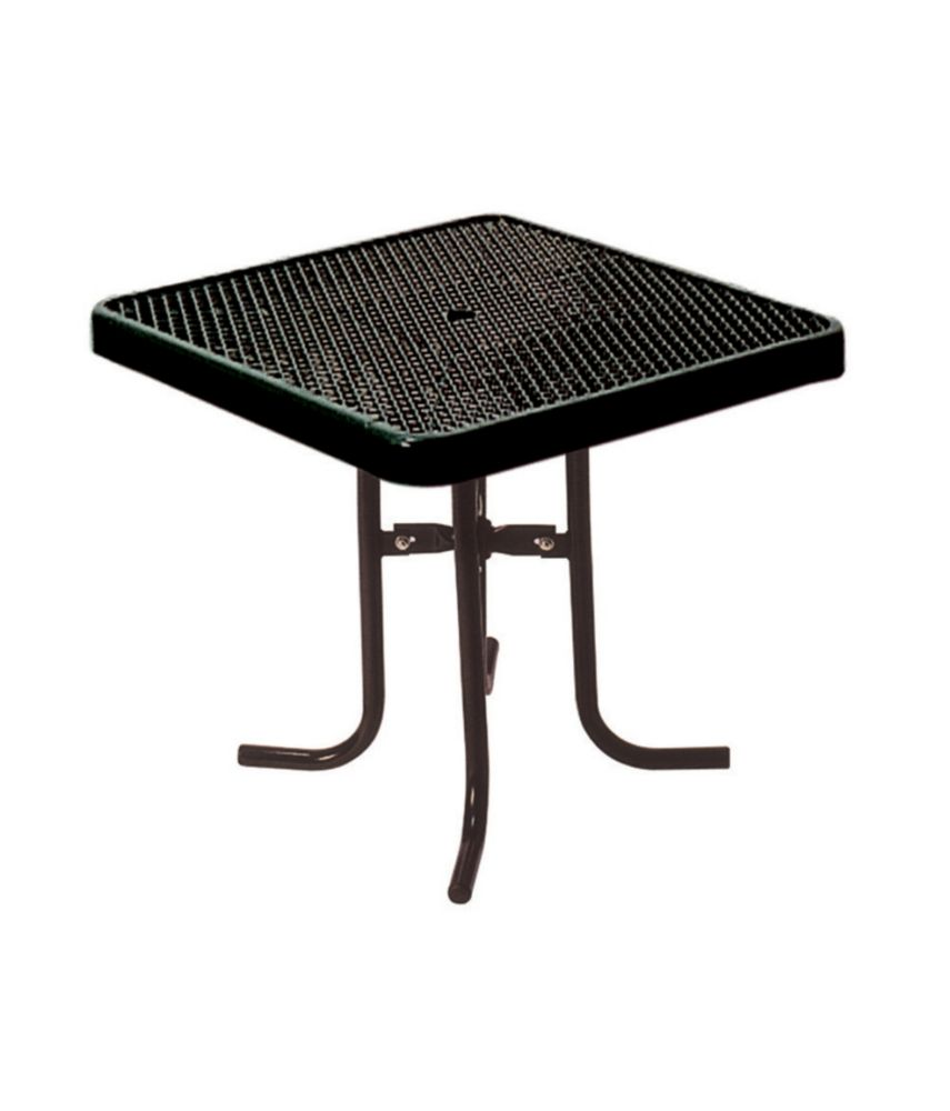 36 inch Commercial Square Table- Black