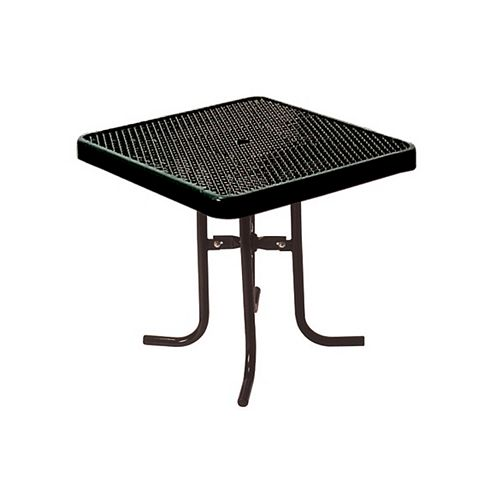 UltraSite 36-inch Commercial Square Table in Black