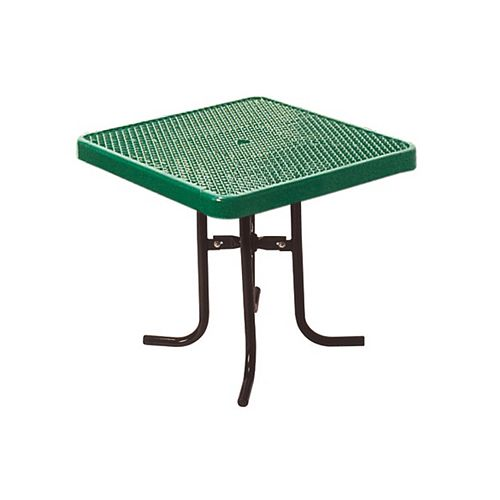 UltraSite 36-inch Commercial Square Table in Green