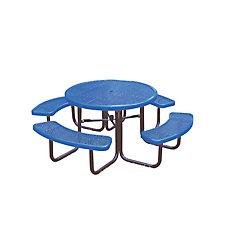 Table ronde de 46po- Bleu