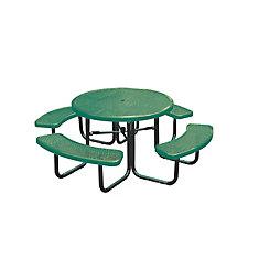 Table ronde de 46po- Vert