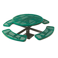 UltraSite 46-inch Commercial Round Surface-Mount Table in Green