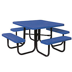 UltraSite 46-inch Diamond Blue Commercial Park Square Table