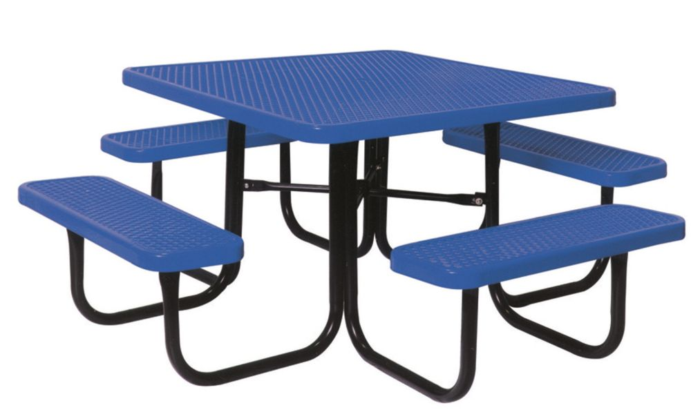 UltraSite 46-inch Diamond Blue Commercial Park Square Table