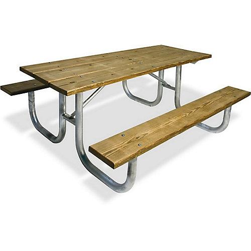 Table en bois de 6pi