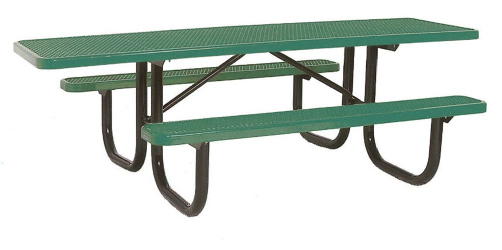 8' Double Sided Extra Heavy Duty Commercial ADA Table- Green PBK238H-V8G Canada Discount