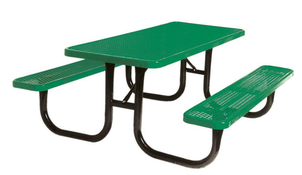 Table très durable de 8pi- Vert