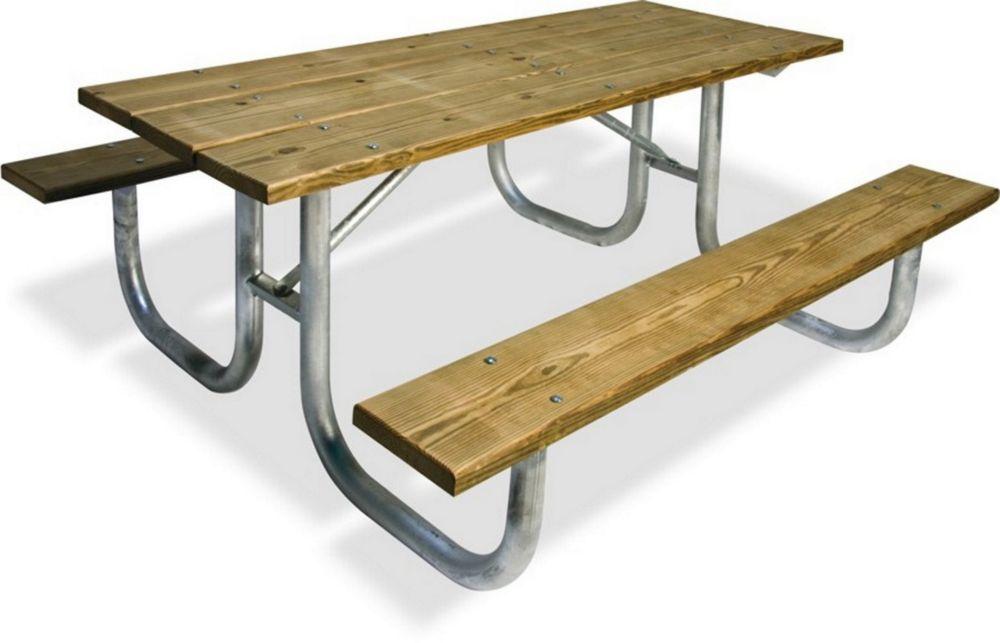 8' Extra Heavy Duty Table, Portable, Pressure Treated