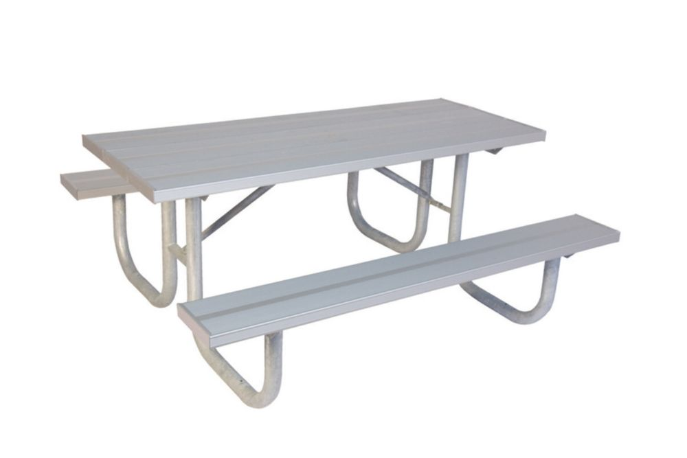 8 ft Commercial Aluminum Table