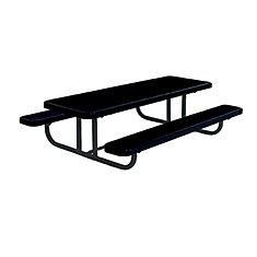 Table rectangulaire de 8pi pour enfants dâge préscolaire, portative, en forme de losanges- Noir