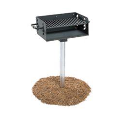 UltraSite Barbecue au charbon de bois répondant aux normes de lADA