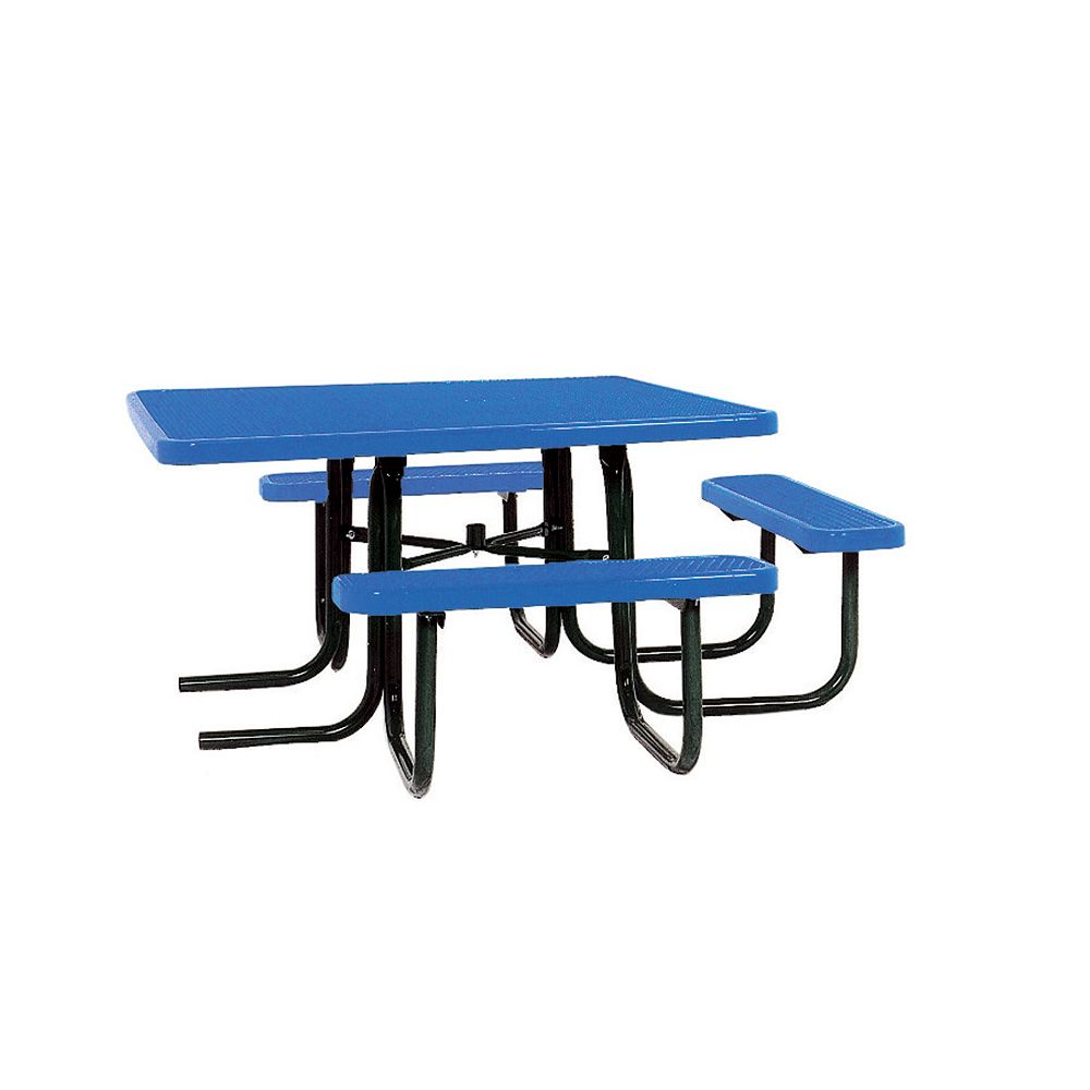 UltraSite 46-inch ADA Commercial Square Table in Blue