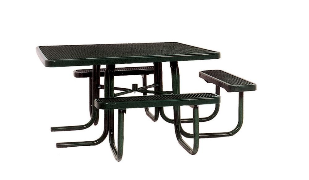 46 inch ADA Commercial Square Table- Black