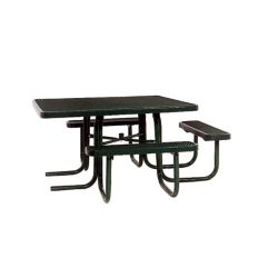 UltraSite 46-inch ADA Commercial Square Table in Black