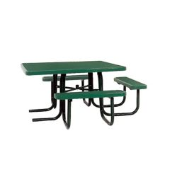 UltraSite Table carrée de 46po répondant aux normes de lADA- Vert