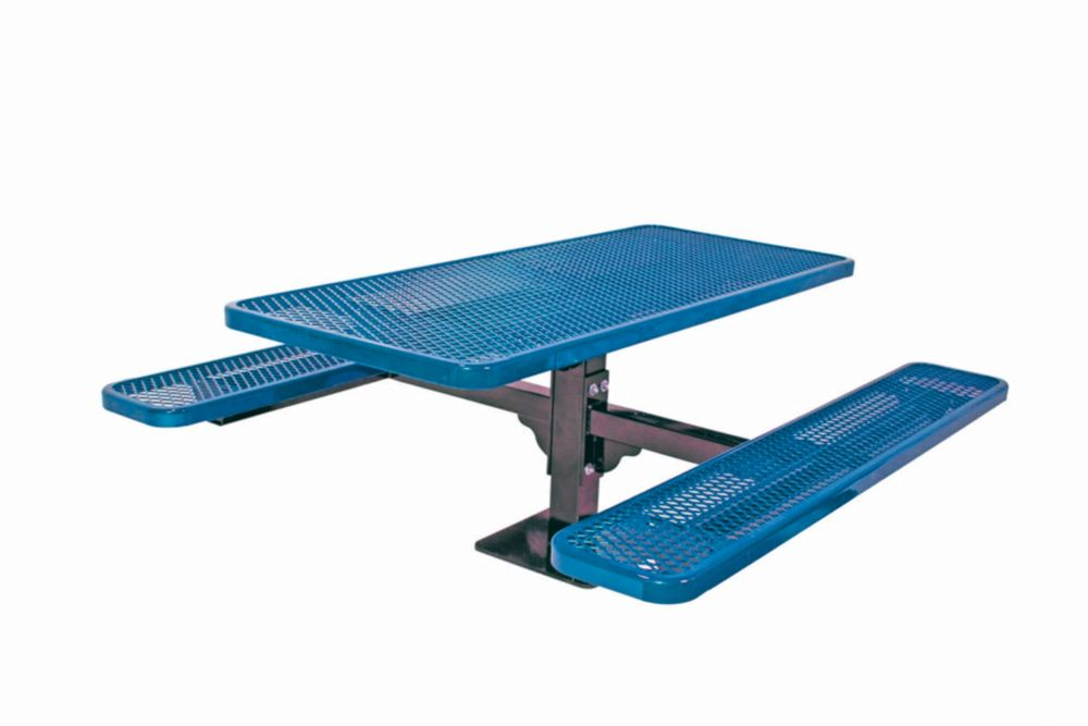 6 ft Commercial Rectangular Table, Surface Mount- Blue PBK337SM-V6B Canada Discount