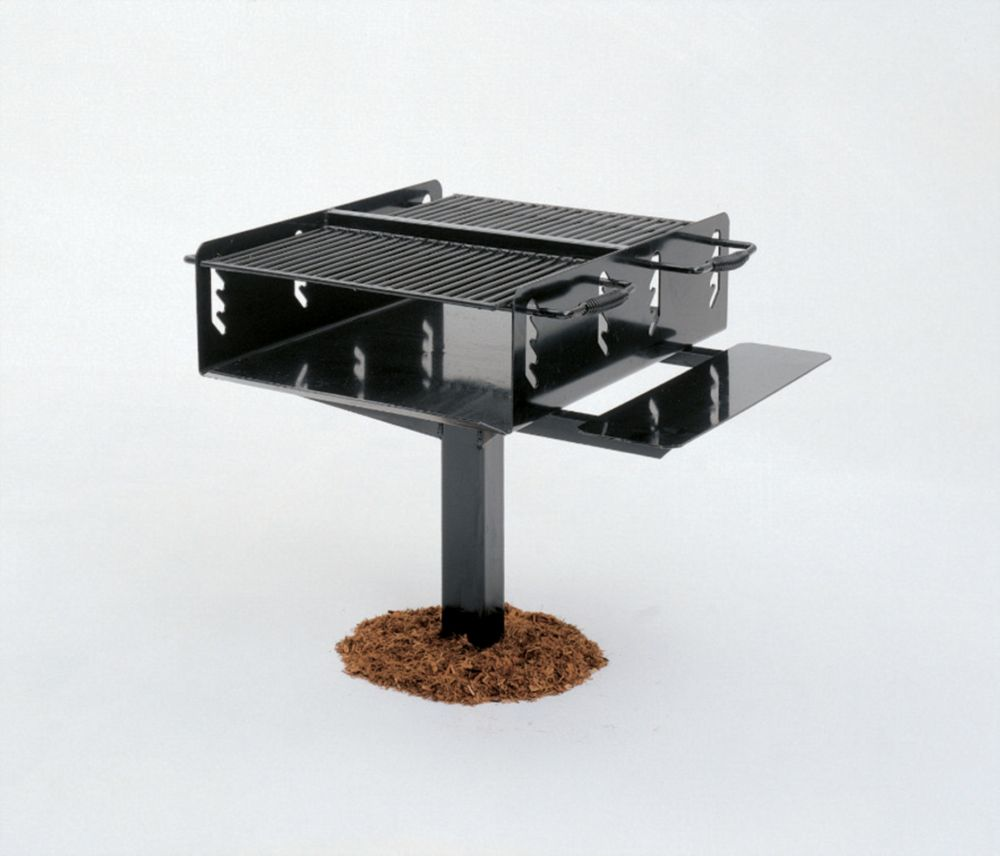 Commercial Bi-Level Grill- In Ground