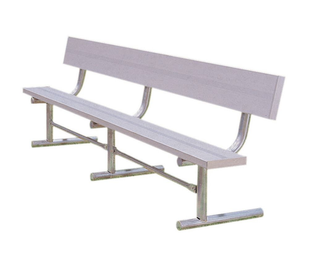 15' Aluminum Team Bench
