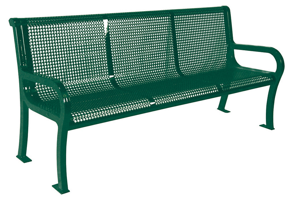 Lexington 6 ft. Commercial Bench in Green