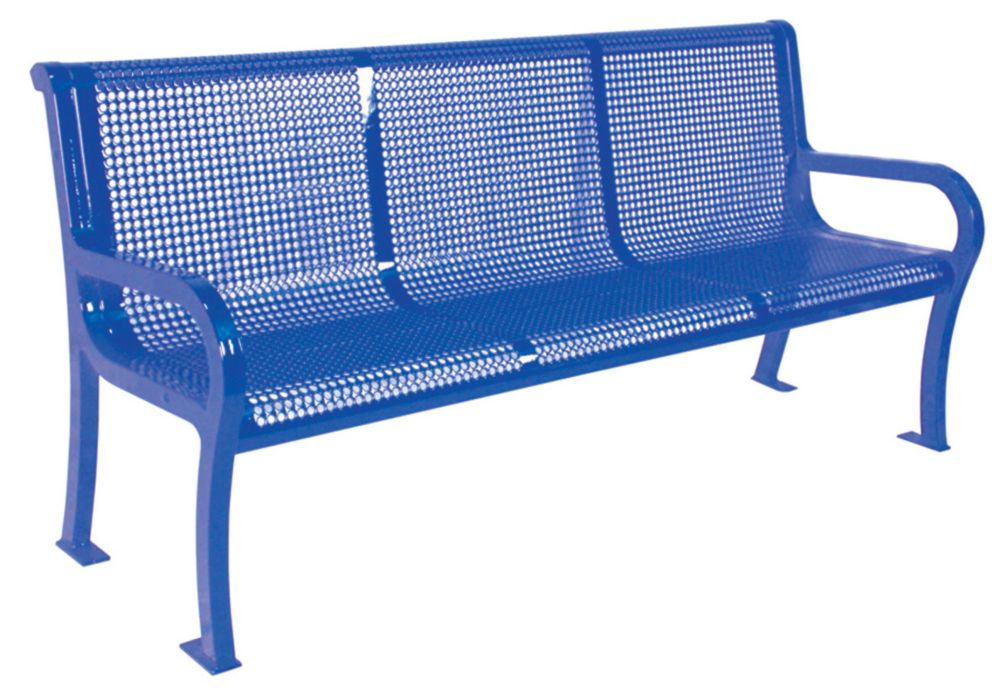 Banc Lexington de 6 pi- Bleu